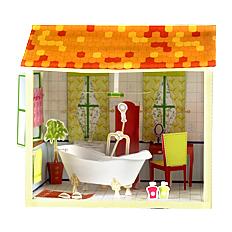 حمام سه بعدی کاغذی