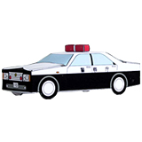 کاردستی ماشین پلیس