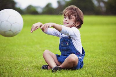 توپ بازی با یک دست